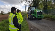 Tracked Tractor Training with SVT